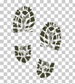 Shoe Footprint Boot PNG