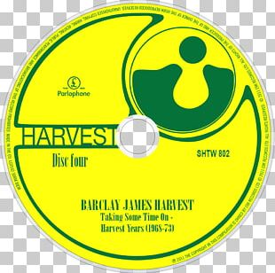 Taking Some Time On: The Parlophone‐Harvest Years 1968–73 Compact Disc Logo Barclay James Harvest Product PNG