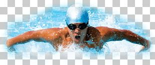 Swimming Front Color PNG
