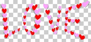 Valentine's Day Heart Father's Day PNG