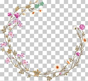 Borders And Frames Frame Flower PNG