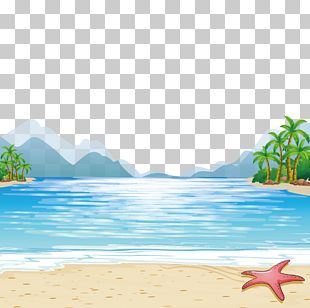 Child Beach Illustration PNG