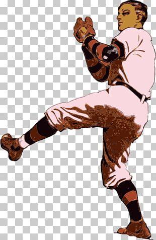 Baseball Vintage Base Ball Pitcher Batting PNG