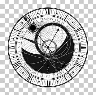 Prague Astronomical Clock Tattoo Astronomy PNG