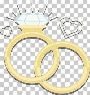 Wedding Ring Diamond Euclidean PNG