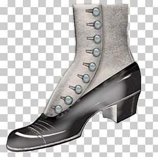 Victorian Era Boot Shoe Free Content PNG