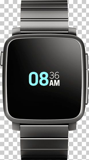 Pebble Time Steel Amazon.com Smartwatch PNG