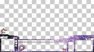 Purple Line Font PNG