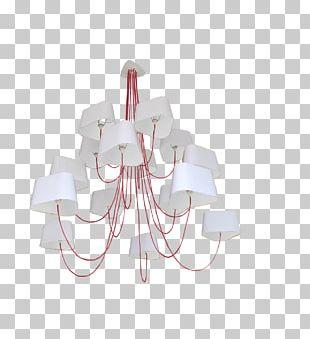 Chandelier Light Fixture White Cloud PNG