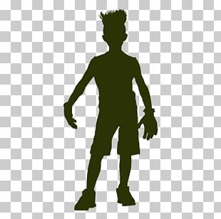 Silhouette Anime Fidget Spinner Battle Costume PNG