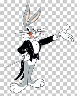 Bugs Bunny Rabbit Cartoon Character PNG