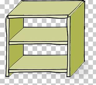 Shelf Bookcase Furniture PNG