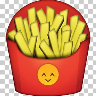 French Fries Fast Food Hamburger Baked Potato Emoji PNG