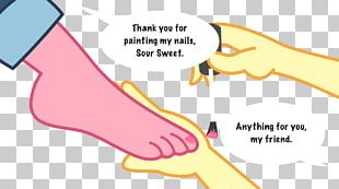 Thumb Sour Sweet Foot Nail PNG