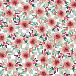 Floral Design Watercolor Painting PNG