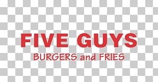 Hamburger Five Guys Burgers And Fries French Fries Restaurant PNG