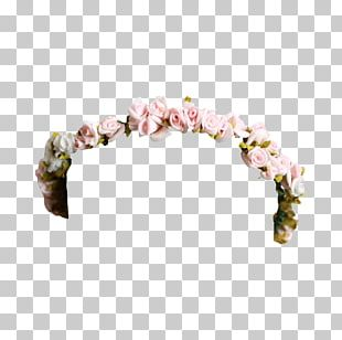 Flower Crown Headband PNG