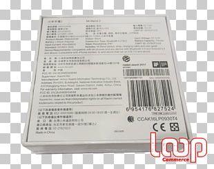 Xiaomi Mi Band 2 Bracelet Smartwatch PNG