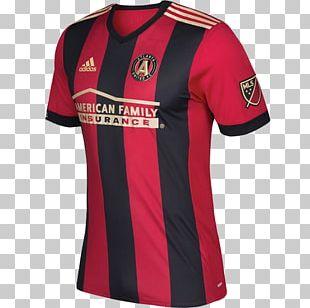 Atlanta United FC T-shirt 2017 Major League Soccer Season 2018 Major League Soccer Season Jersey PNG