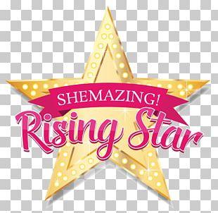 Rising Star Logo Television Show PNG