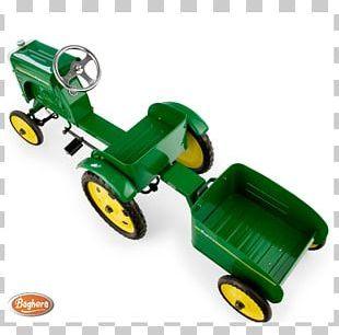 John Deere Tractor Trailer Pedaal Farm PNG