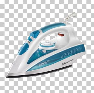 Clothes Iron Russell Hobbs Home Appliance Ironing Steam PNG