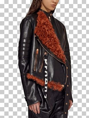 Leather Jacket Fashion Hairstyle PNG