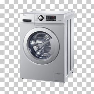 Washing Machine Clothes Dryer Haier Home Appliance PNG