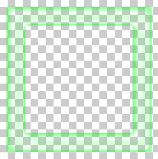 Frames Line Green Angle Pattern PNG