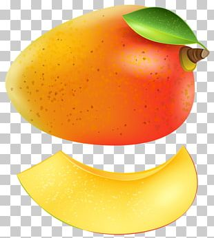 Mango Orange Fruit PNG