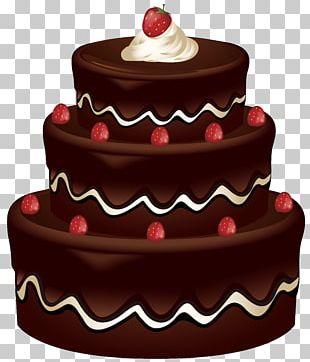 Chocolate Cake Birthday Cake Red Velvet Cake PNG