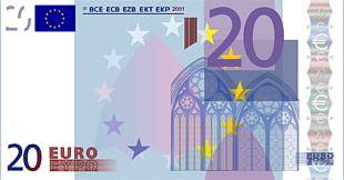 20 Euro Note Banknote 500 Euro Note 200 Euro Note PNG
