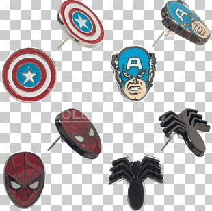 Earring Spider-Man Captain America Doctor Strange Groot PNG