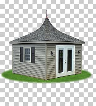 House Shed Siding Facade Cottage PNG