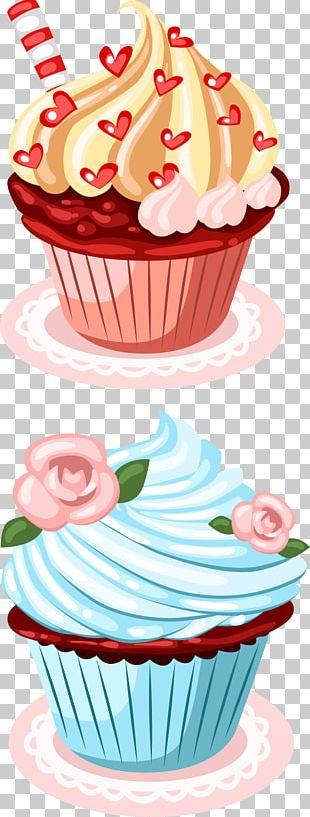 Cupcake Birthday Cake Greeting Card Wish PNG