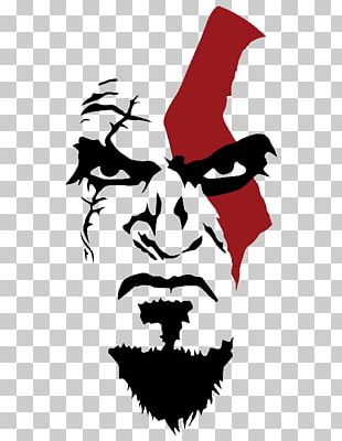 God Of War: Omega Collection T-shirt Stencil Kratos PNG