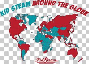 World Map Globe Earth PNG