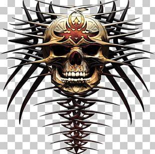 Email Main Disc Jockey Tribe Skull PNG
