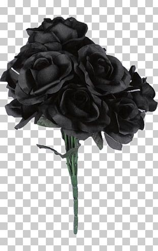 Flower Bouquet Black Rose Costume PNG