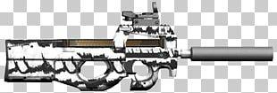 Gun Barrel FN P90 Weapon CrossFire Air Gun PNG