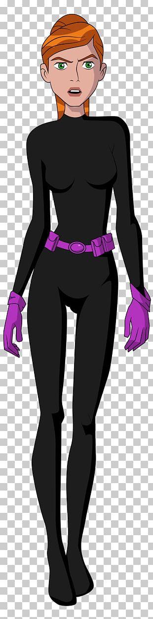 Gwen Tennyson Ben 10 Character PNG