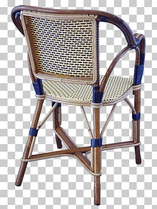 Chair Garden Furniture Wicker PNG