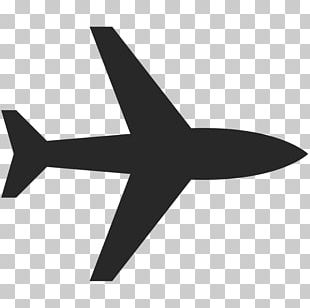Airplane Computer Icons Black Plane Free Flight PNG