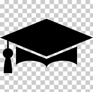 Graduation Ceremony Square Academic Cap Logo PNG