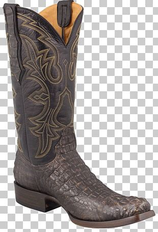Nocona Common Ostrich Cowboy Boot Justin Boots PNG