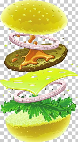 Hamburger Cheeseburger Fast Food Chicken Sandwich Veggie Burger PNG