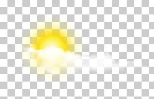 Yellow Sky Pattern PNG