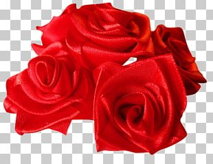 Garden Roses Artificial Flower Red PNG