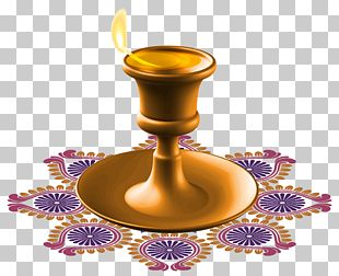 Diwali Candle PNG