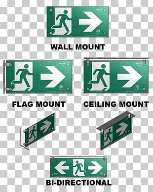 Exit Sign Emergency Exit Building Code Fire Escape PNG